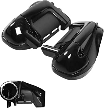 TCMT For Harley Davidson HD Vented Lower Fairing Speaker Pods Street Glide Road King