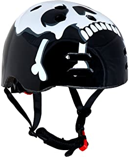 Sport DirectTM The SKULLTM BMX Helmet Balck 55-58cm US CPSC 16 CFR 1203 Safety