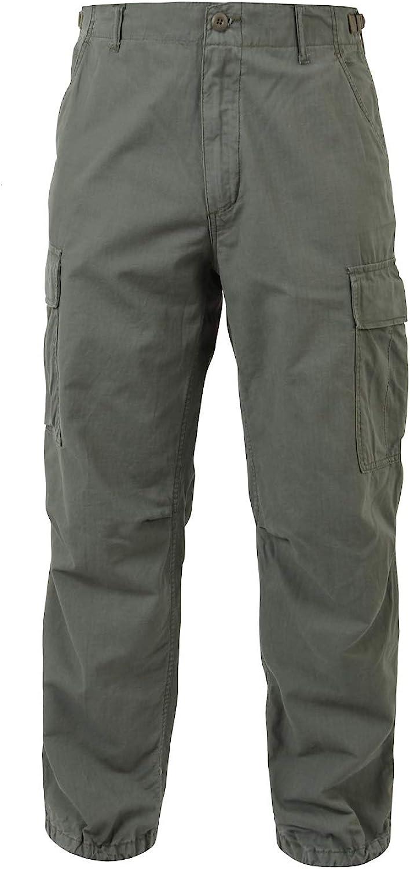 Rothco Vintage Vietnam Rip-Stop Fatigue Pants: Clothing