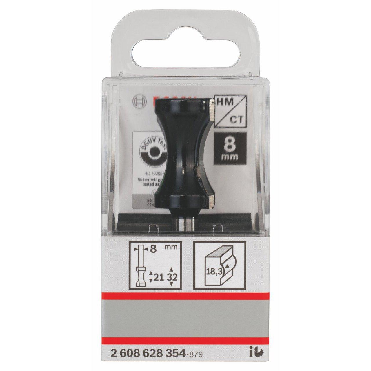 6x32x8mm Bosch 2608628354 Chamfer Bit 20