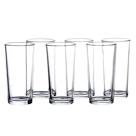 4375cc4d8a0 Image Unavailable. Image not available for. Color  Water Beverage 7.8 Oz  HIGHBALL Glasses Set ...