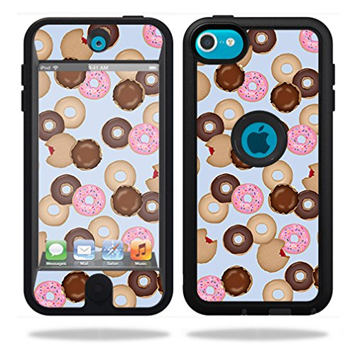Change Ipod Touch - MightySkins Skin For OtterBox Defender iPod Touch 5G Case – Donut Binge | Protective, Durable, and Unique Vinyl Decal wrap cover | Easy To Apply, Remove, and Change Styles | Made in the USA