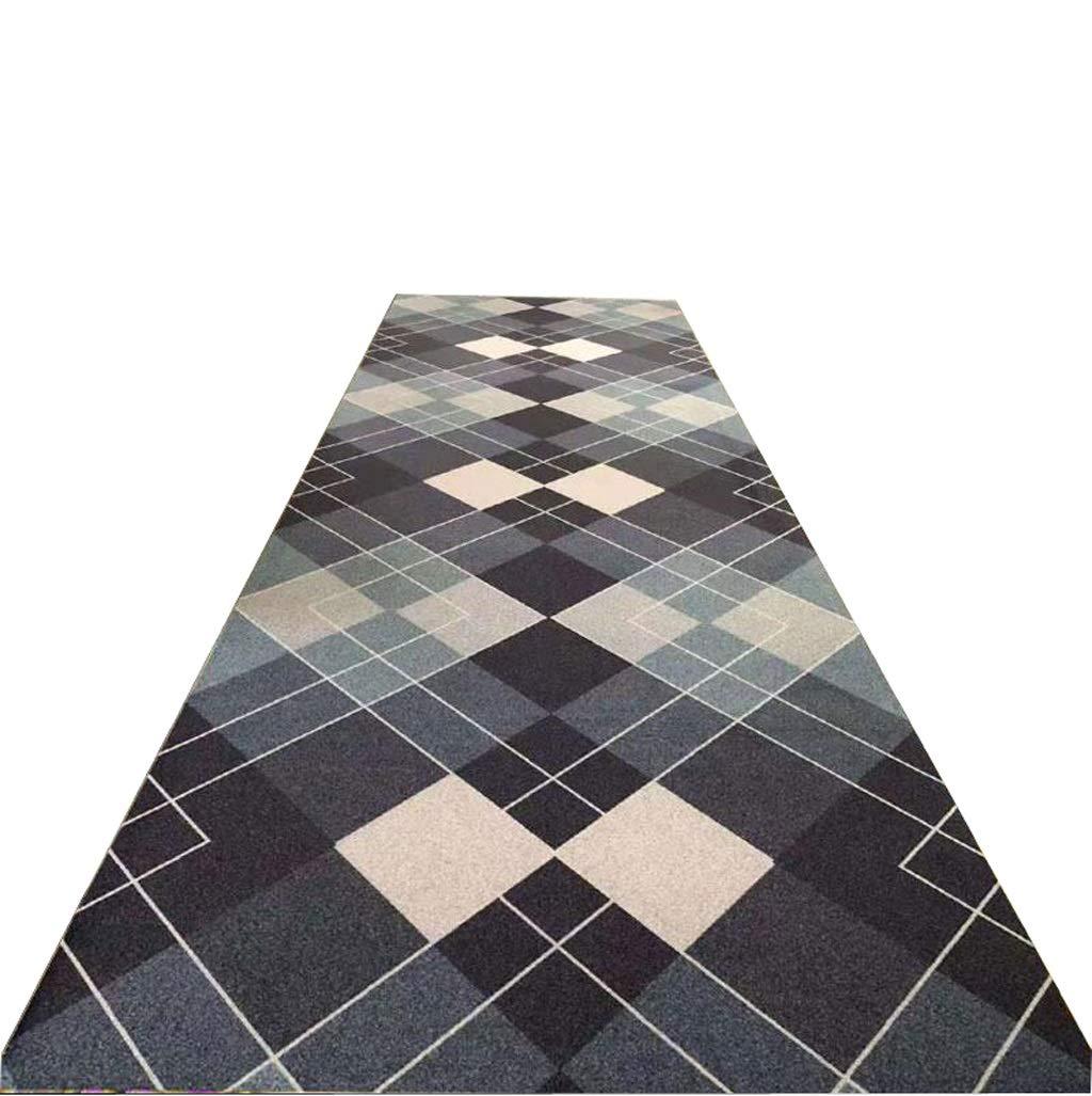 A LYQZ Tapis de Roue de Couture sans Fond antidérapant pour Couloir de Tapis, épaisseur 5 mm (Couleur   B, Taille   120  150cm) 80200cm
