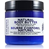 Carapex Natural Body Butter, Heavy Duty Hand Cream, Intensive for Extremely Dry Skin, Super Dry Hands, Cracks, Chapped Hands, Unscented, Paraben Free, 4oz