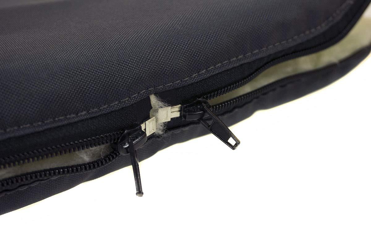 Chanceli/ère universelle pour poussette dhiver pour coque b/éb/é sac de couchage footmuff Laine Graphite Ours en peluche Grande taille 85 cm avec capuche 071