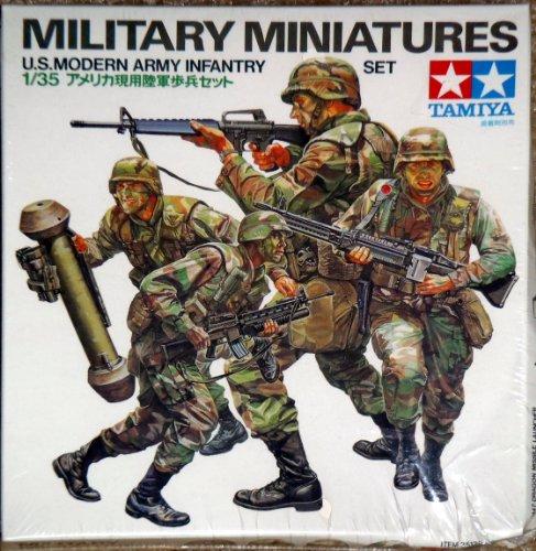 Tamiya Military Miniatures U.S. Modern Army Infantry - Military Miniature