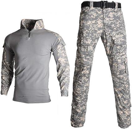 Camuflaje CP Fuerza Especial Ropa Militar Táctica Camisas ...