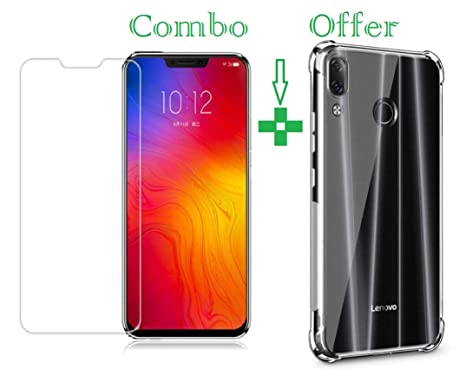 hot sales 1074a 4aedd Azzil Tempered Glass & Back Cover Flexi Case for: Amazon.in: Electronics