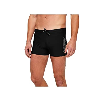 1ee85b733fb78 Superdry Men's Sport Swimming Swim Stretch Midi Navy: Amazon.co.uk ...