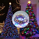 Twinkle Star Christmas Lights, 66FT 200 LED Color