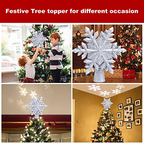 Christmas Decoration Led Light Garden Projector Lamp Dynamic Snowflake Colourful