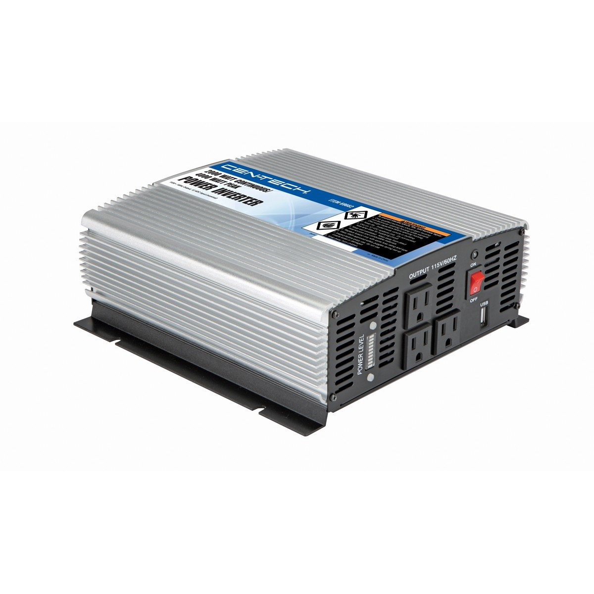 2000 Watt Continuous/4000 Watt Peak Power Inverter from TNM