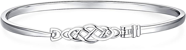 JewelryPalace Nudo celta abierto Plata de ley 925 Brazalete