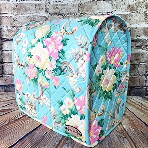 100% Cotton, Custom, Heirloom Quality, Quilted, Mixer Cover, Handcrafted to fit a 4.5 Qt. or 5 Qt. KitchenAid Tilt-Head Stand Mixer, Cozy, Made in Vermont by Baby Rozen Design (Image #5)