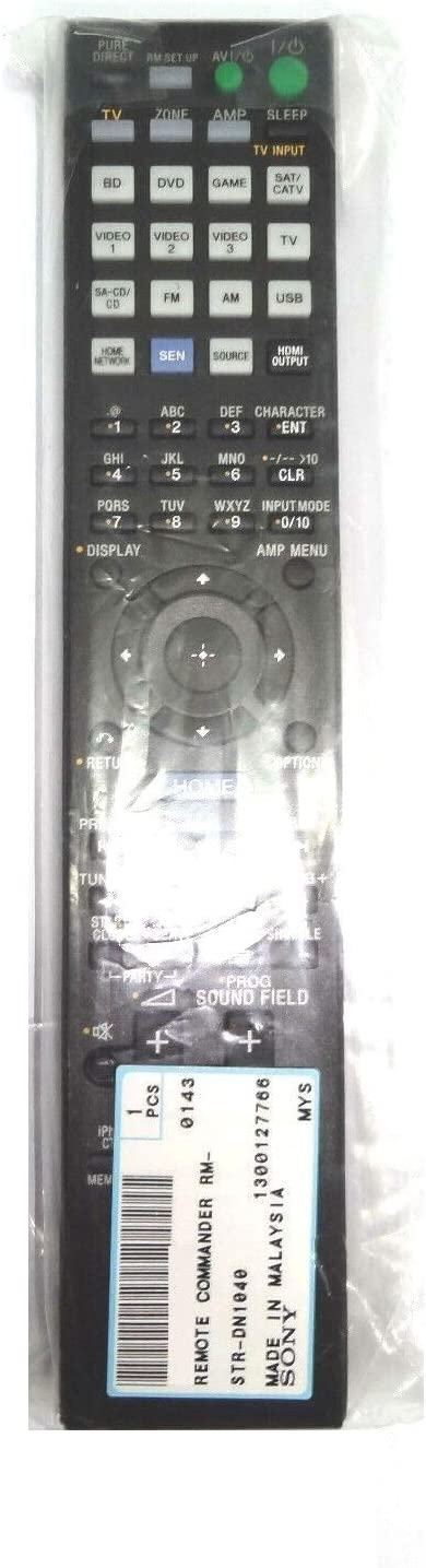 New Remote Control RM-AAP103 for Sony AV System STR-DN1040 149217311