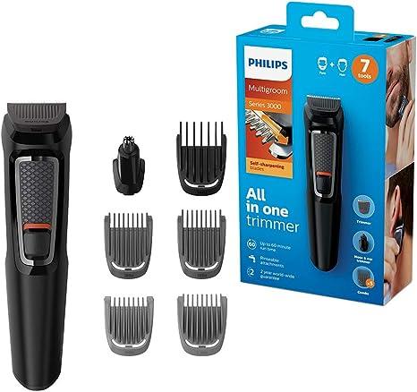 Philips MULTIGROOM Series 3000 MG3720/33 cortadora de pelo y ...