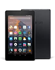 Tablet Fire 7, pantalla de 7'' (17,7 cm), 8 GB (Negro) - Incluye ofertas especiales