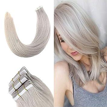 Extensions grau blond