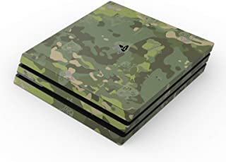 product image for SOFLETE Tropical Multicam Full Faceplates Skin Decal Wrap with 2 Piece Lightbar Decals for Playstation 4 Pro