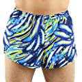 "1"" Elite Split Leg Print Run Short Men's(1000P)"