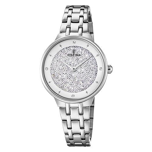 Festina Reloj Mujer Acero Cristal Swarovski f20382/1