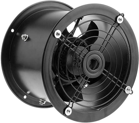PrimeMatik - Extractor de Aire de Tubo de 200 mm para ventilación Industrial 2550 RPM Redondo 260x260x180 mm: Amazon.es: Electrónica