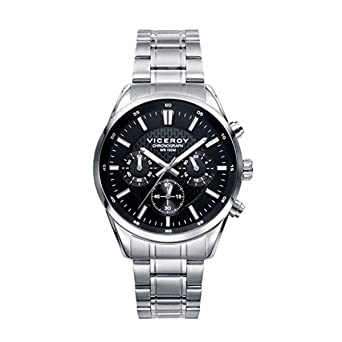 Amazon.com  Viceroy Viceroy watch 401017-57 Black man  Watches d2a247239900