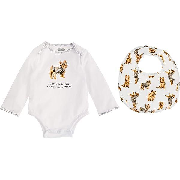 Carolines Treasures BB5950BIB Pawprints English Bulldog Brindle White Baby Bib multicolor 10 x 13