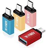 ARKTEK USB C to USB Adapter, USB-C Male to USB 3.0 A Female Connector, Support for OTG Data Sync & Charging, Compatible with Laptops, Chargers, Power Banks and More USB-C Devices (4 Pack)
