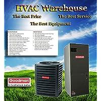 5 Ton 14 Seer Goodman Heat Pump System - GSZ140601 - ASPT61D14