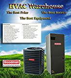 2 ton hvac - Goodman 2 Ton 15 Seer Heat Pump System with Multi Position Air Handler