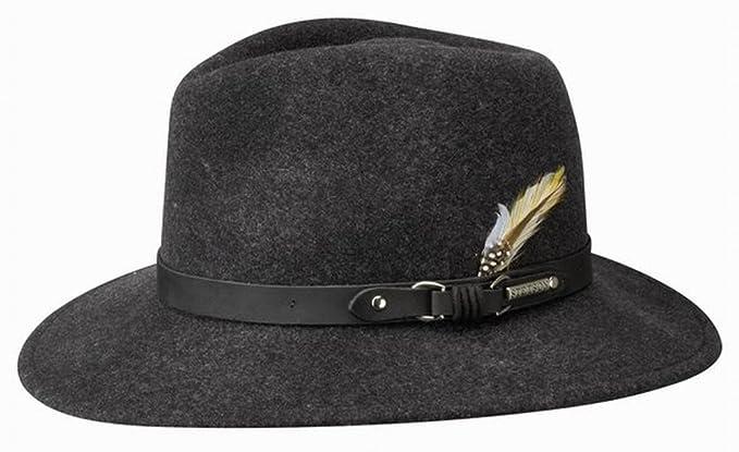 Stetson Hats - Sombrero de vestir - para hombre gris gris XL-61 cm  Amazon. es  Ropa y accesorios ad069f6b553