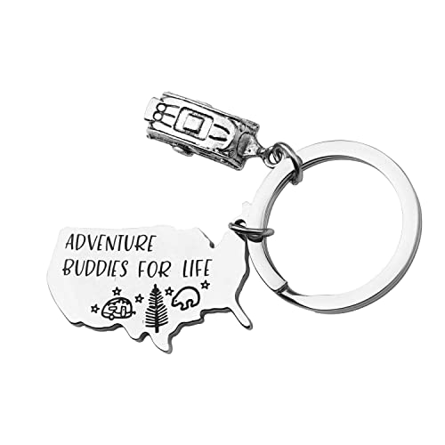 Amazon.com  MAOFAED Adventure Buddies Keychain (Adventure Buddies ... 93106077e0