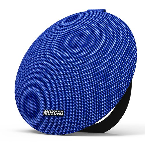 MOKCAO STYLE Bluetooth Speakers 4.2,Portable Wireless Speaker with 15W Super Stereo Sound,Strong Bass,Waterproof IPX7, 2500mAh Battery, Perfect for iPhone/Android devices-Blue by Pvendor