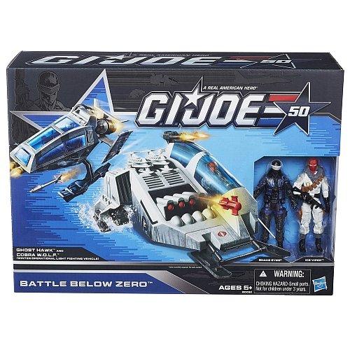 Hasbro G.I. Joe Battle Below Zero Set 50th Anniversary (Joe Pack Battle)