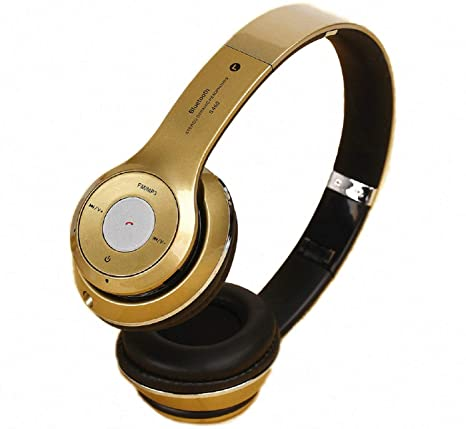 General S460 Wireless Bluetooth 3.0 Stereo Headphone for Mobile Phone  Golden  Headphones