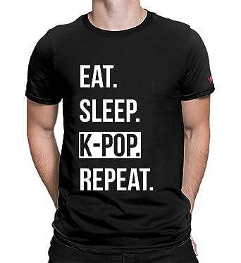 cf8c6c6d Graphic Printed T-Shirt for Men & Women   Kpop BTS T-Shirt for Girls   Half Sleeve  T-Shirt   Round Neck T Shirt   100% Cotton T-Shirt   Short Sleeve T Shirt