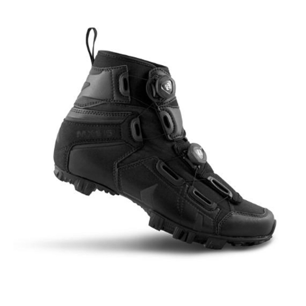 湖Cycling 2018メンズmx145マウンテンサイクル靴 – ブラック48   B077NR2J6C