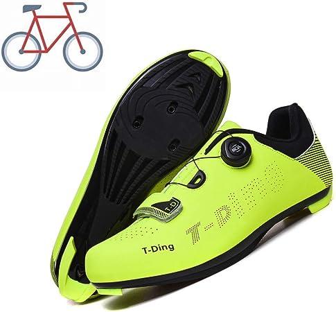 liangh Zapatillas Deportivas,Zapatillas De Ciclismo para Adultos,Zapatillas De Bicicleta Carretera,Antideslizantes Y Transpirables,D-EU46: Amazon.es: Hogar