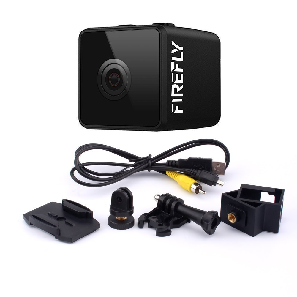 Mini FPV Camera Hawkeye Firefly Spy Camera 160 Degree HD 1080P FPV Micro Action Camera DVR Built-in Mic for RC Drone by Firefly (Image #7)