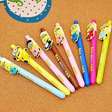 Amazon.com: 12pcs Bolígrafo Minions decoraciones de fiesta ...