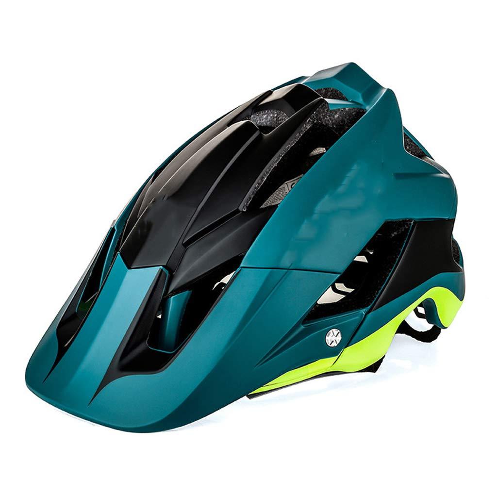 KYX-GAOMOUREN Fahrrad Fahren Helm Mountainbike Einteiliges Reit Helm Helm