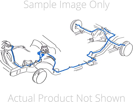 Amazon.com: Inline Tube Compatible with 1999-2003 Ford F250 F350 4 Wheel  ABS Power Disc 4wd Brake Line Set Ext Cab Long SS (T 51): Automotive