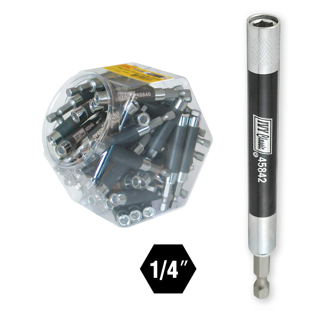 IVY Classic 44622 5 Magnetic Screw Guide Driver 1//Card