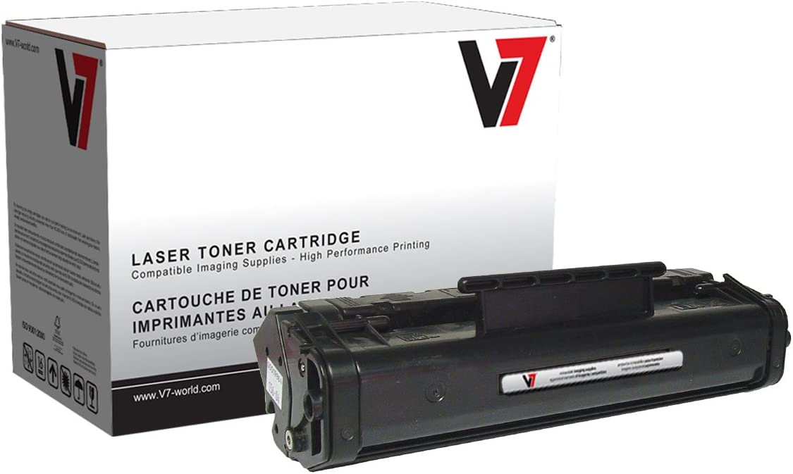 V7 V706A Remanufactured Toner Cartridge for HP C3906A (HP 06A) - 2500 Page Yield
