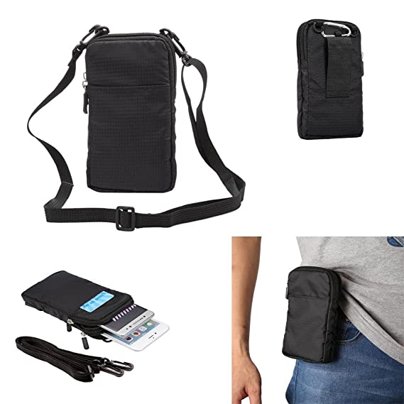 best authentic 6480b a9fbd Universal Crossbody Cell Phone Purse Waist Pack Bag For Outdoor Sports  Moblie Phone Carrying Cases Shoulder Belt Bag Pouch for iPhone 7 6/6S Plus  ...