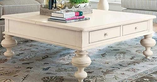 Paula Deen Home Paula Deen Put Your Feet Up Table, Linen