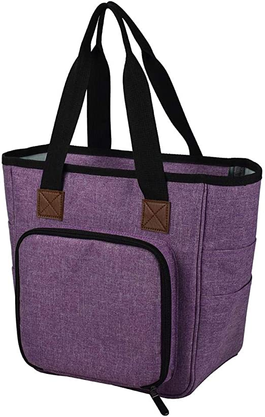 Shoulder Bag Sewing Knitting Storage Carry Craft Storage Shopping