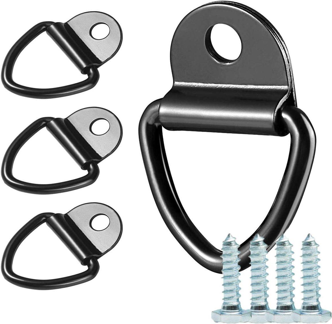 Anillos de amarre de alta resistencia, 4 anillas en forma de D ...