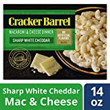 Cracker Barrel Macaroni and Cheese, Vermont White Cheddar, 14 Ounce